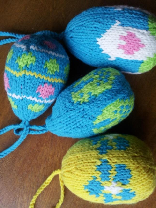 Zelfgefabriceerde eieren!
